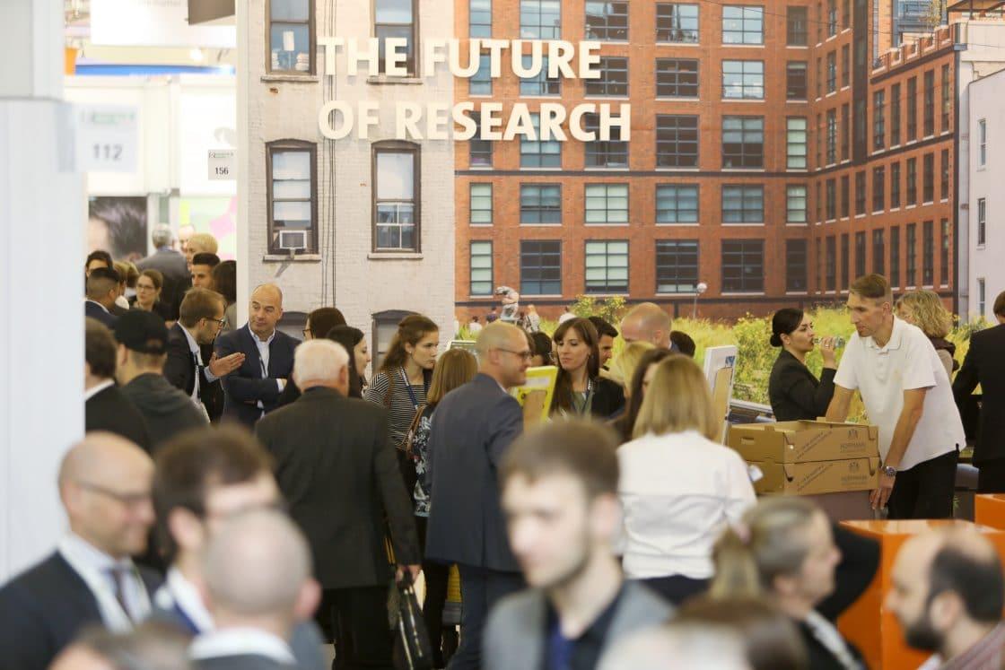 Bild von der Research und Results Messe