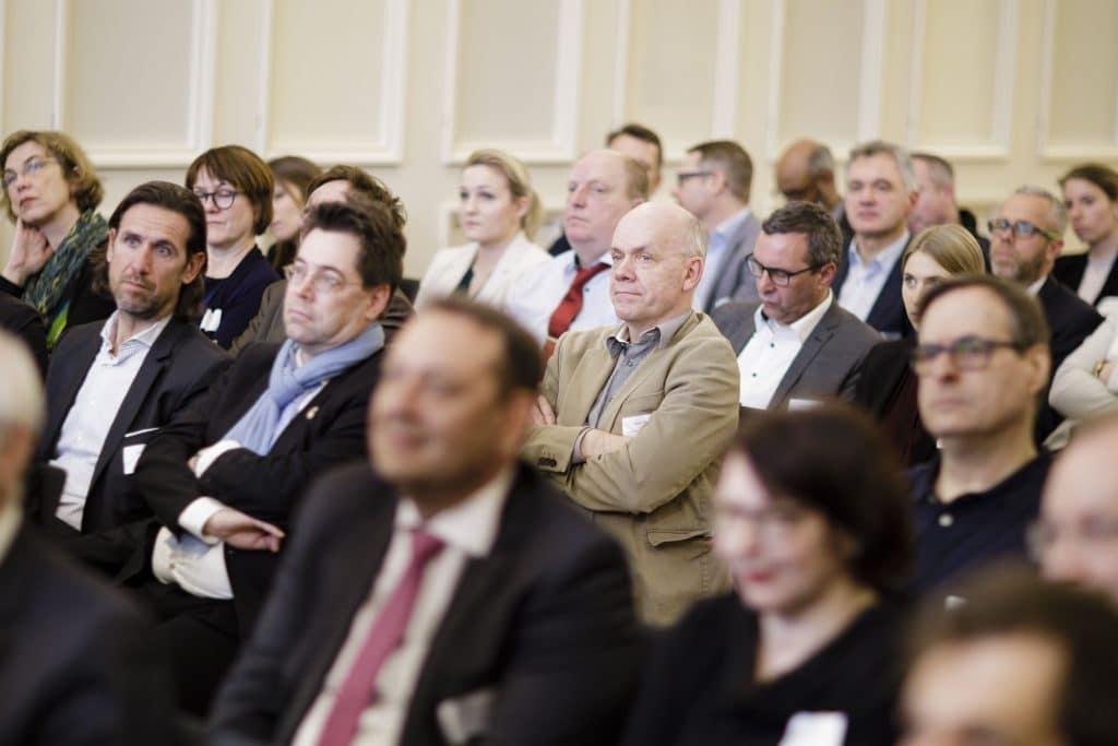 Parlamentarischer Abend der Initiative Deutsche Zahlungssysteme e.V. in der in der Parlamentarischen Gesellschaft. Berlin, 12.03.2020